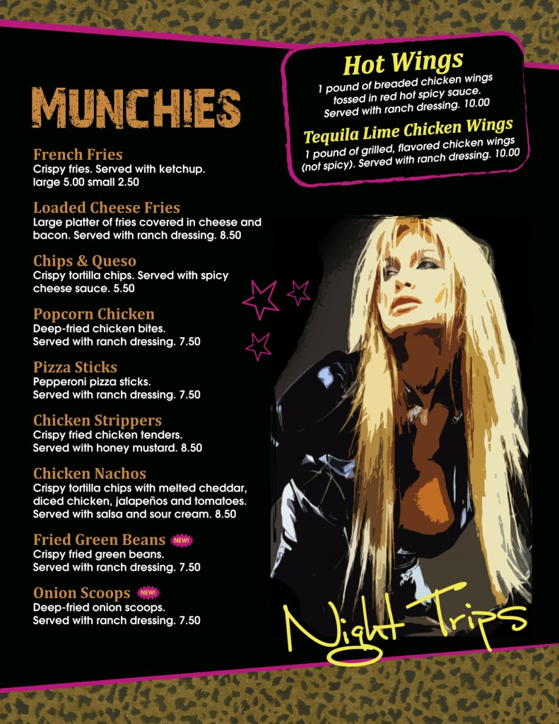 Night Trips OKC (2013 menu)